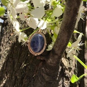 lapis Jewelry - Lapis ring with sterling silver size 7